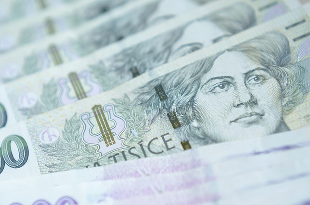 žena na bankovkách